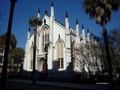 French Huguenot Church is located at 136 Church St., Charleston, SC