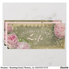 Peonies Greeting Card / Postcard Customize these to match your sets Make your day special with these custom and sets Stamp Making, Card Making, Wedding Postage Stamps, Gift Packaging, Custom Greeting Cards, Accent Colors, Paper Design, Thoughtful Gifts, Peonies