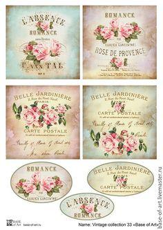 vintage decoupage 39 little bi Vintage Labels, Vintage Ephemera, Vintage Cards, Vintage Paper, Vintage Retro, French Vintage, Vintage Men, Printable Labels, Free Printables