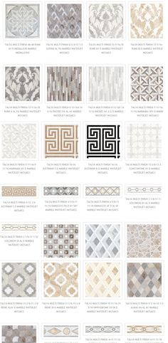 Masterful Marble Mosaics | The English Room