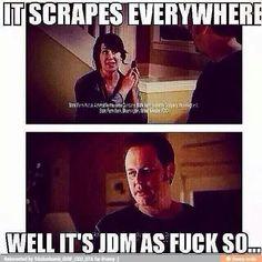 It gon' scrape