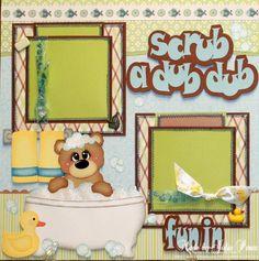 Paper Crafts: Scrub a Dub Dub...Fun in the Tub