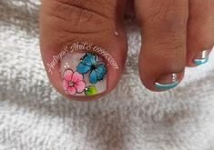 Pedicure Nails, Manicure, Summer Toe Nails, Nail Art, Turquoise, Beauty, Irene, Amanda, Beautiful