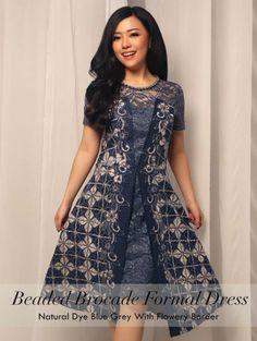 Home - Batik Kultur Dress Brukat, Kebaya Dress, Batik Kebaya, Tutorial Tutu, Blouse Batik Modern, Dress Batik Kombinasi, Model Dress Batik, Dress Brokat Modern, Mode Batik