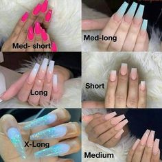 50 Creative Nail Designs for Short Nails to Create Unique Styles Short Nails, Long Nails, Tapered Square Nails, Nails Today, Nagellack Trends, Nail Effects, Nail Length, Best Acrylic Nails, Acrylic Nail Types