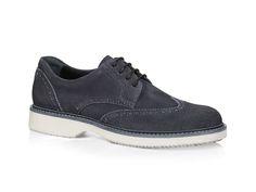 Hogan Route H217 Fade-effect suede derby shoes - Italian Boutique €217