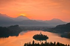Mystical, peaceful, natural, historical, sweet - all that is Bled. WELCOME! Bled Lake; photo: Franci Ferjan