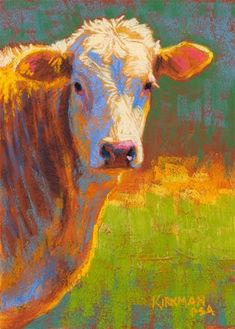 "DPW Fine Art Friendly Auctions - ""Salsa"" (pastel, 7x5 inches) by Rita Kirkman"