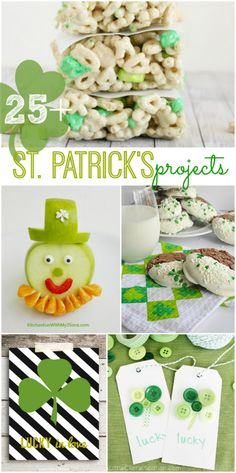25+ St. Patrick's projects, desserts & ideas, so cute!   | via lollyjane.com