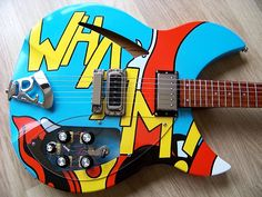 "Paul Weller's ""Wham"" Rickenbacker"
