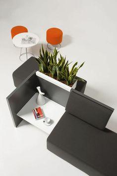 Sofá moderno / de tela / para uso profesional / para edificio público TEAM 6108…