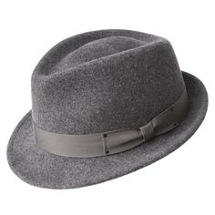 Wynn Teardrop Fedora Sombrero De Fieltro 0bae5060da0