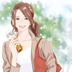 ティーパック パッケージ   Miyamoto Yoshiko illustrator Disney Characters, Fictional Characters, Disney Princess, Illustration, Anime, Pencil, Draw, To Draw, Cartoon Movies