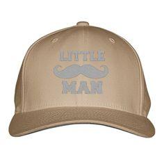 Little Man Embroidered Baseball Cap