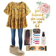 beautiful by itsallison-m on Polyvore featuring mode, Frame, Clarks, Vera Bradley, Forever 21, Olivine and WALL