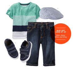 Baby Boy Style: Mint, Navy, White, and Gray - Momtastic
