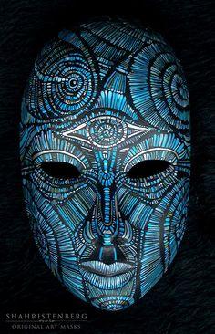 Neptune 2011 Nadine Shahristenberg. #art #mask