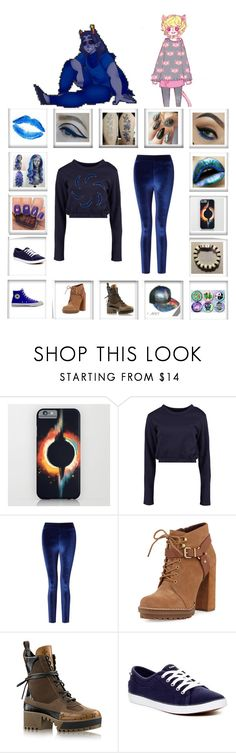 """hero of void"" by odscene ❤ liked on Polyvore featuring Boohoo, Miss Selfridge, BCBGeneration and Keds"