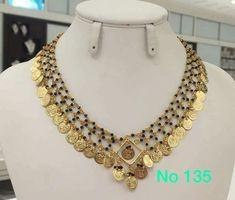 1 Gram Gold Jewellery, Gold Jewelry, Beaded Jewelry, Jewelery, Black Beats, Jewelry Patterns, Indian Jewelry, Necklace Set, Bridal Jewelry