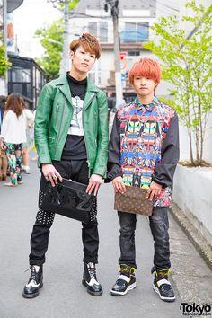 Harajuku Guys in Plastic Tokyo & Anrealage