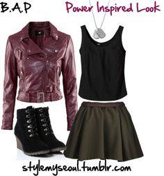BAP Power inspired fashion