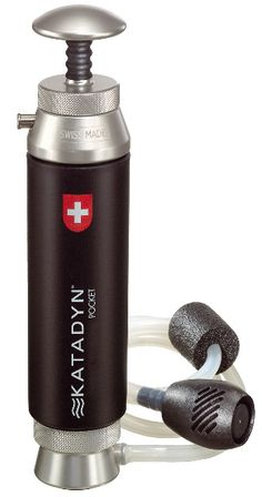 Pocket by name not pocket by nature The Katadyn Pocket Ceramic Water filter is almost a lifetime purchase it is the only product on the market that