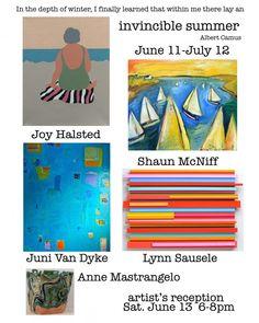 Joy Halstead. 'Invincible Summer' Group show at Flatrocks Gallery, June 11- July 12, 2015