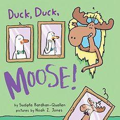 Two ducks plus one moose equals mayhem, mischief and true friendship.