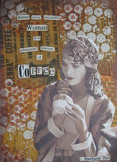 For Lydia - Nancy Lefko mixed media art (This is like a definition if me!)