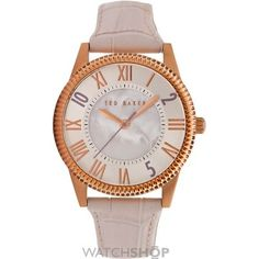 Wants to buy this lovely baby pink strap watch from Ted baker