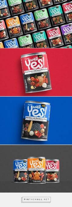 Campbell's Well Yes! packaging design by Bulldog Drummond, Inc.​ - http://www.packagingoftheworld.com/2017/03/campbells-well-yes.html