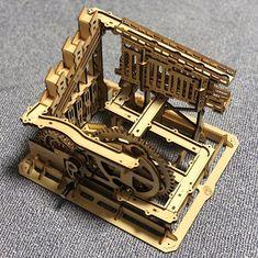 Puzzle en bois 3D Maquette DIY Puzzle mecanique Mecapuzzle DIY  Loisirs créatifs Idée cadeau Puzzle Laser, Puzzle, 3d, Creative Crafts, Gift, Puzzles, Puzzle Games, Riddles