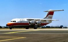 Pacific Southwest Airlines | Pacific SouthwestAirlines (PSA) British Aerospace BAe 146 N348PS (c/n ...