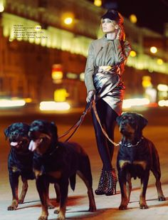 OMG, I just love the dogs here.. amd the shoes... and.... everything  :DM O T O by Igor Oussenko, via Behance