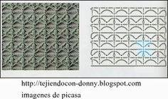 PATRONES=GANCHILLO = CROCHET = GRAFICOS =TRICOT = DOS AGUJAS
