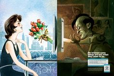 Internet Dangers (Archive) AD CD on Behance Internet Day, Internet Safety, Safe Internet, Creative Advertising, Public Service Announcement, Good Advertisements, Awareness Campaign, Commercial Signs, Deep Meaning