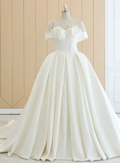 Off the Shoulder Satin Wedding Dress . 30 Off the Shoulder Satin Wedding Dress . Wedding Dresses London, Western Wedding Dresses, Wedding Dresses For Sale, Wedding Dress Shopping, Cheap Prom Dresses, Bridal Dresses, Wedding Gowns, Lace Weddings, How To Dress For A Wedding