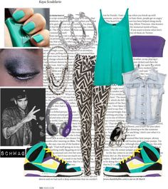 """""""Schwag. Pt1"""" by aero-dynamicsteeze ❤ liked on Polyvore"""