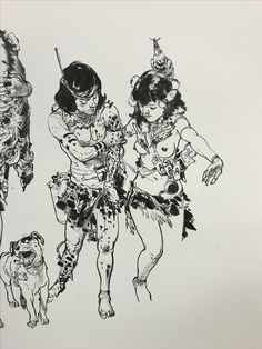 Kim Jung Gi live drawing