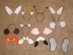 Ashley's Craft Corner: Animal Ears Headbands Sheep, Cows, Donkey for Christmas program - templates! Christmas Pageant, Christmas Program, Christmas Costumes, Diy Headband, Ear Headbands, Crafts For Kids, Arts And Crafts, Diy Crafts, Paper Crafts