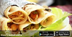 Kathi Roll is one of the best street food to have... So enjoy the taste of delicious kathi roll at your home or workplace..So order it form our Website or App.. ‪#‎KathiRoll‬ ‪#‎FirstChoiceFood‬ ‪#‎Orderkaro‬ ‪#‎InstallApp‬ https://www.firstchoicefood.in/