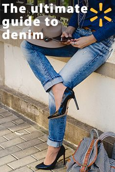 Jeans: They're your year-round wardrobe staples, the ultimate day-to-night piece, your one item of clothing that goes with just about everything. But with so many styles to choose from, finding the perfect pair and accessorizing it just right can feel overwhelming. Follow a few simple rules from Walmart to become queen of the jean in no time.
