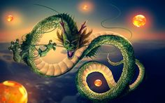 Anime Dragon Ball Z Shenron (Dragon Ball) Wallpaper Dragon Ball Gt, Otaku Anime, Majin, Z Arts, Chinese Dragon, The Villain, Mythical Creatures, Cool Art, Fanart