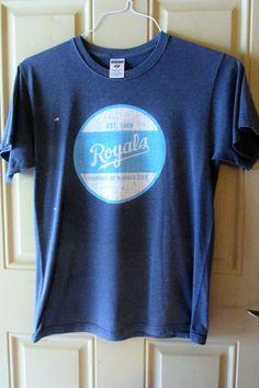 Kansas City Royal Est 1969 Product of Kansas City Tee Shirt Size M  #JERZEES #GraphicTee