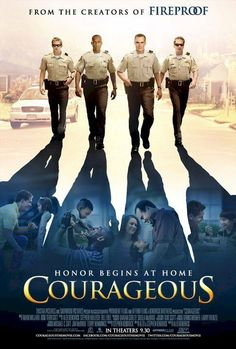 Courageous , starring Alex Kendrick, Ken Bevel, Kevin Downes, Ben Davies. When a tragedy strikes close to home, four police officers struggle with their faith and their roles as husbands and fathers; together they make a decision that will change all of their lives. #Drama