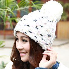 3 colors mix knitting women winter hat  fashionable by wangscarf