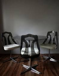 dining chairs with glass table - Google Search Glass Table, Dining Chairs, Stool, Deck, Google Search, Furniture, Home Decor, Dining Chair, Stools
