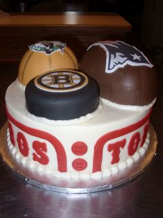 Boston Sports cake Boston Youre My Home 2 Pinterest Boston