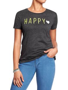 Size XL please - Old Navy   Women's Word-Graphic Tees