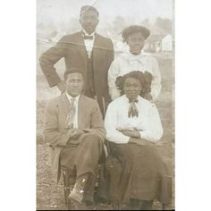 Vintage African American couples in Cotton Plant Arkansas